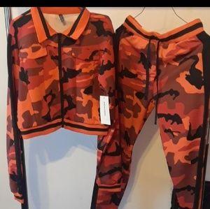 Pants - 2 piece track suit